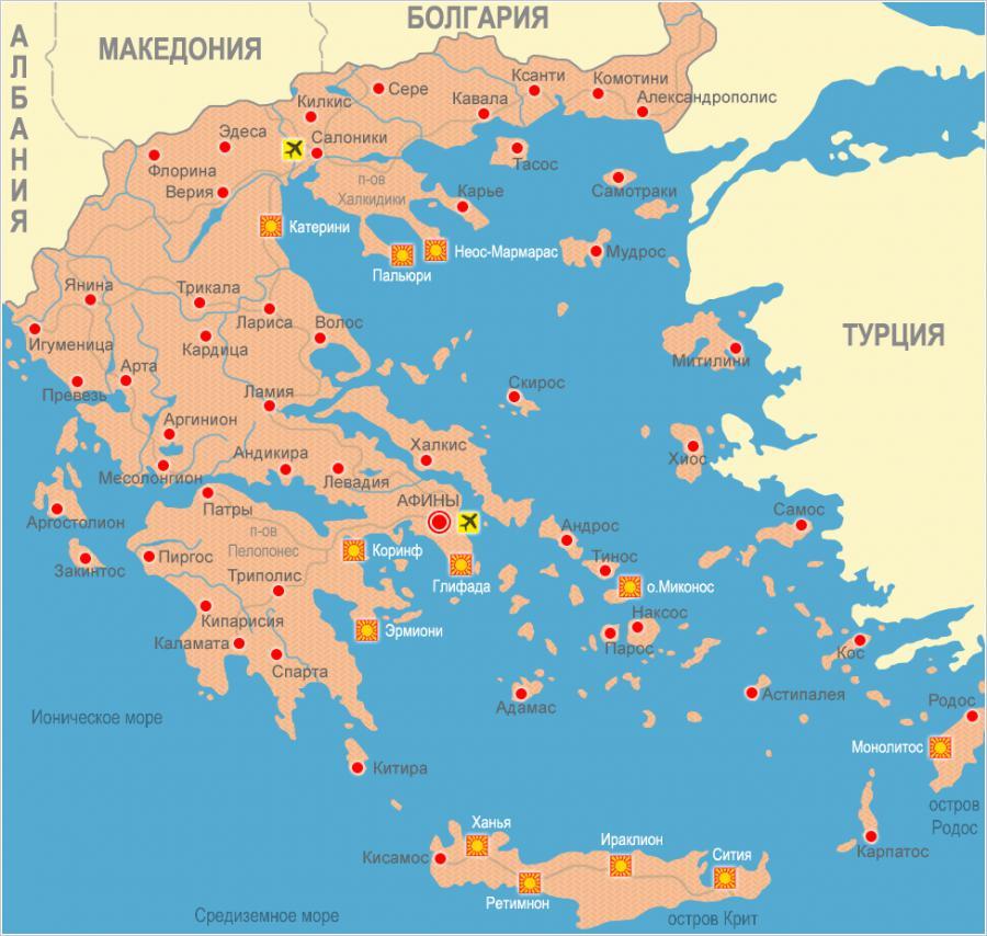 Апартаменты на олимпийской ривьере греция